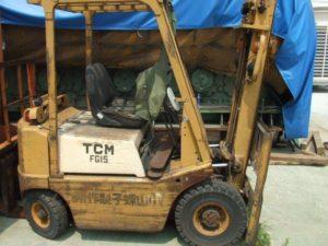 TCM 1.5T汽油堆高機